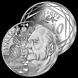 10€ Argent France Jacques...