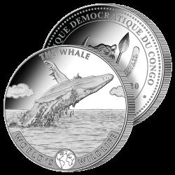 20 Francs Baleine Argent...