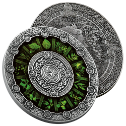 Monnaie Calendrier Celtique