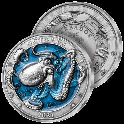 5 Dollars Octopus Géant 2021