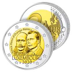 2 Euros Luxembourg 2020 –...