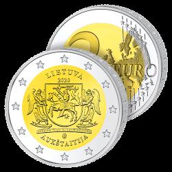 2 Euros Lituanie 2020 –...