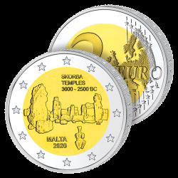 2 Euros Malte 2020 – Temple...