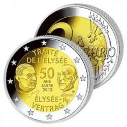 2 Euros France - Traité de l'Élysée