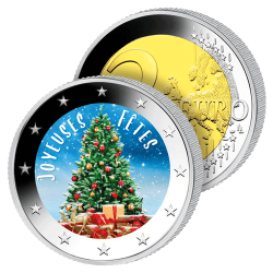 La Monnaie 2 €uros de Noël...