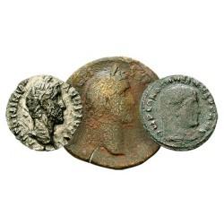 Les 3 Fameuses Monnaies de l'Empire Romain