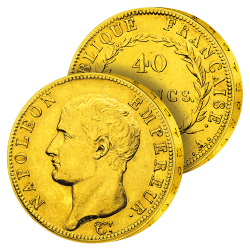 40 Francs Or Napoléon Ier...