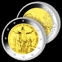 2 Euros Vatican 2013 – JMJ...