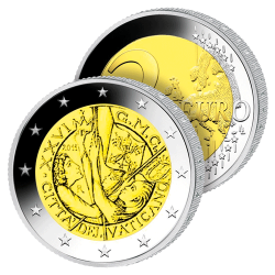 2 Euros Vatican 2011 – JMJ...