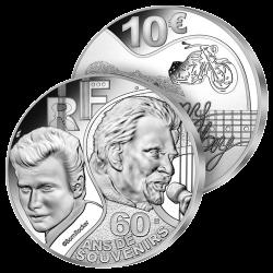 10 Euros Argent Johnny...