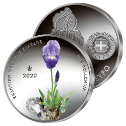 5 €uros Argent Iris de Grèce