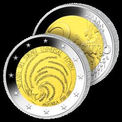 2 Euros Andorre 2020 –...