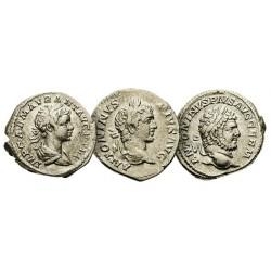 Les 3 Deniers d'Argent de Caracalla