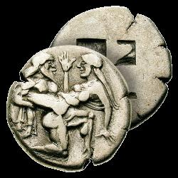 Statère du Satyre et de la...