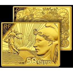 50 €uros Or Pur Semeuse 2021