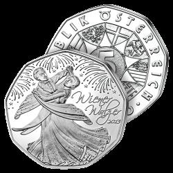 5€ Argent Valse de Vienne