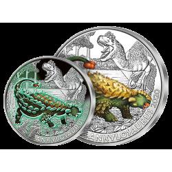 3 €uros L'Ankylosaurus