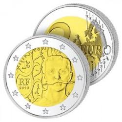 2 Euros France - Pierre de Coubertin