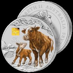 Monnaie 1 Kilo Année du Buffle