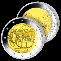 2 Euros Andorre 2016 –...