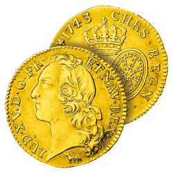 Louis d'Or de Louis XV type...