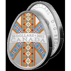 La Rare Monnaie Pyssanka 2021