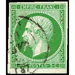 5 Cent. Vert Empereur type...