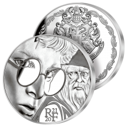 10€ Argent Pur Harry Potter