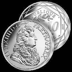 10 €uros Argent Louis XIV