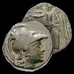 Monnaie Grecque d'Athéna