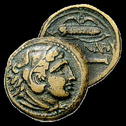 Monnaie Bronze d'Alexandre...
