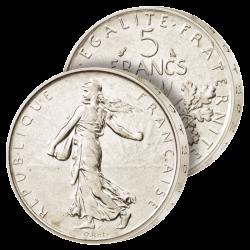 La toute dernière 5 Francs...