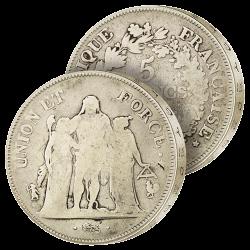 5 Francs Argent Union & Force