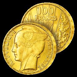 100 Francs Or Bazor 1935