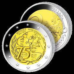 2€ Unicef Belle Épreuve 2021