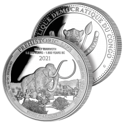20 Francs Argent Mammouth...