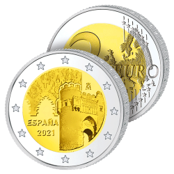 2 Euros Espagne 2021 –...
