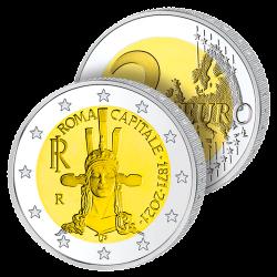2 Euros Italie 2021 – Rome,...