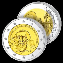 2 Euros France 2014 – Abbé...