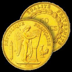 50 Francs Or Génie 1904