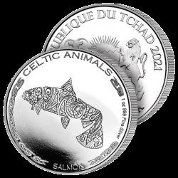 500 Francs Argent le Saumon
