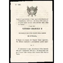 Le Décret Royal Italien