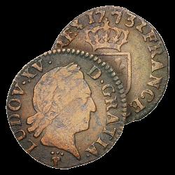Petite Monnaie de Louis XV