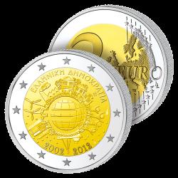 2 €uros 10 ans de l'Euro –...