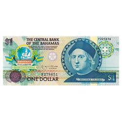 1 Dollar Bahamas Christophe...