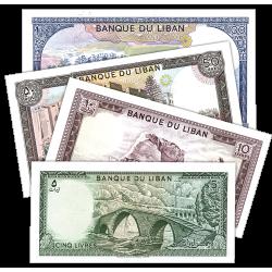 Le Set des 4 Billets du Liban