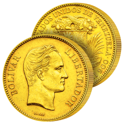 100 Bolivars Or Libérateur