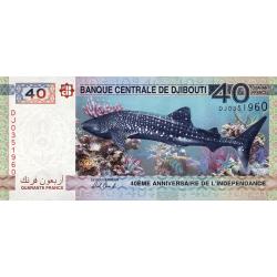 40 Francs Le Requin de...