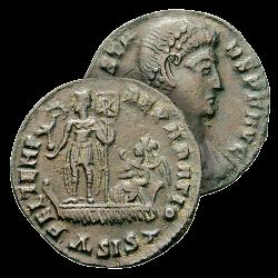 Monnaie de l'Empereur Constant