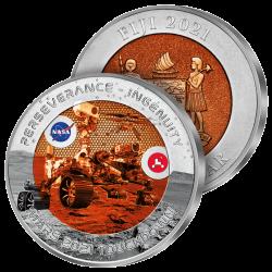 Monnaie Mission sur Mars 2021